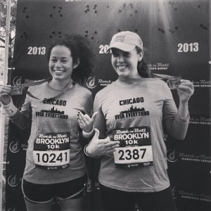 I convinced Krystal to run a 10k with me, and she put me on to paleo